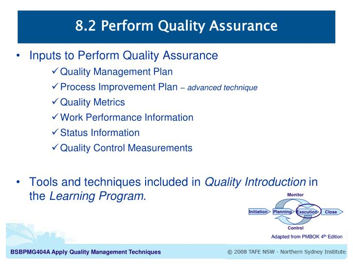 PPT - Project Quality Management Processes PowerPoint Presentation - quality assurance planning