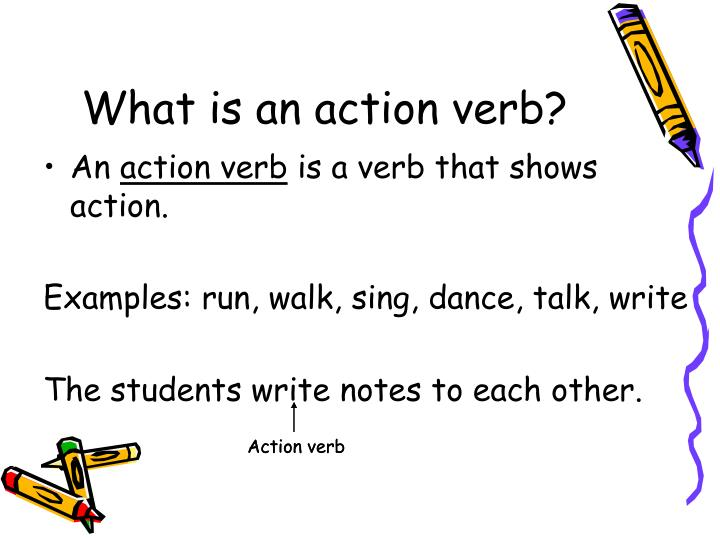 PPT - Action Verbs, Direct Objects  Indirect Objects PowerPoint