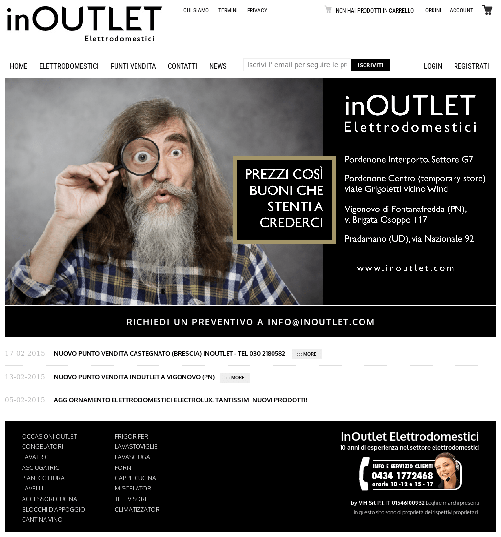 Inoutlet Elettrodomestici Inoutlet Competitors Revenue And Employees Owler Company Profile