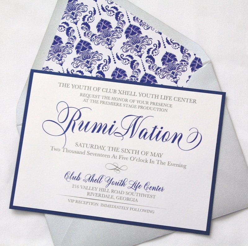 Social Event Invitations - J Luxe Designs, LLC