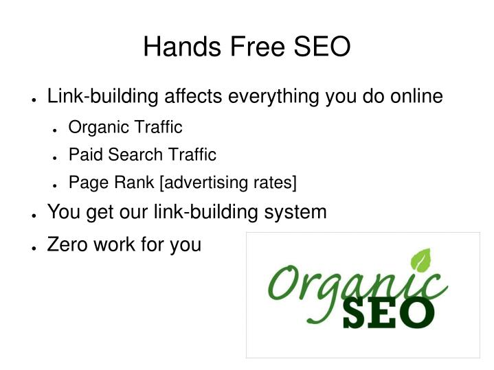 PPT - Hands Free SEO PowerPoint Presentation - ID5418401