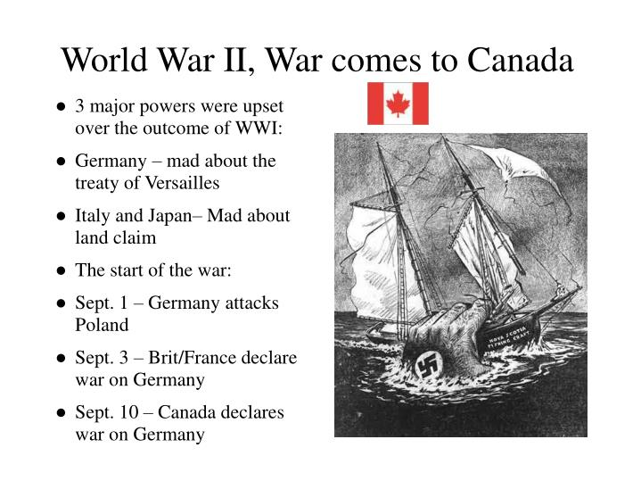 outcome of world war 1