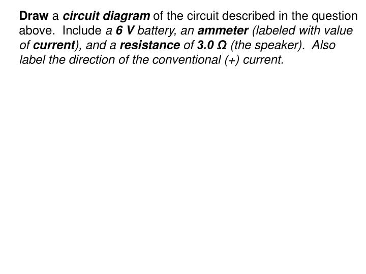 PPT - Chapter 35 Worksheet Circuits and Ohm\u0027s Law PowerPoint
