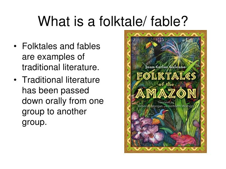 PPT - Traditional Literature PowerPoint Presentation - ID5486233