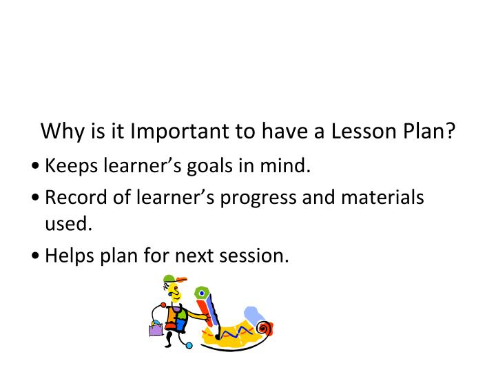 why is it important to a lesson plan - Basilosaur