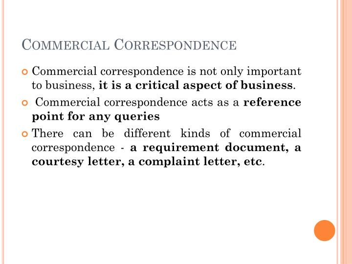 PPT - Letter Writing Business Letters PowerPoint Presentation - ID