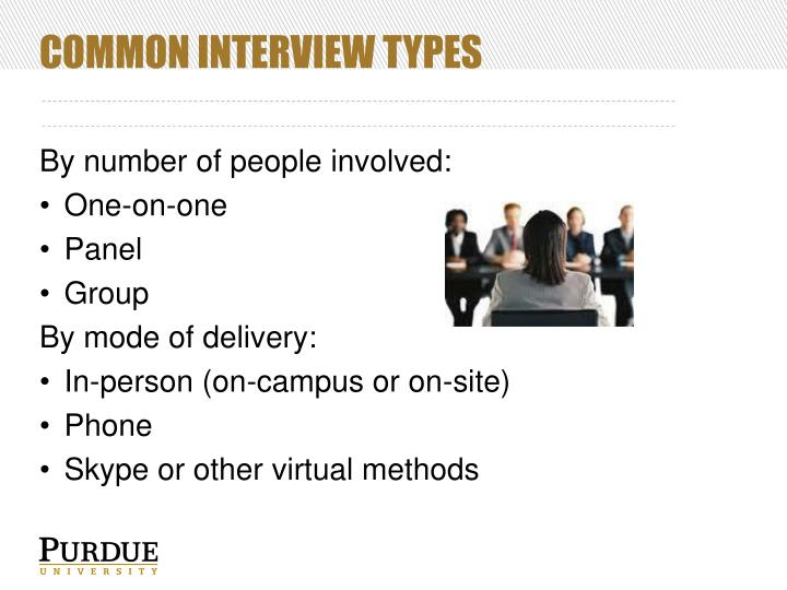 PPT - Interviewing types and methods PowerPoint Presentation - ID