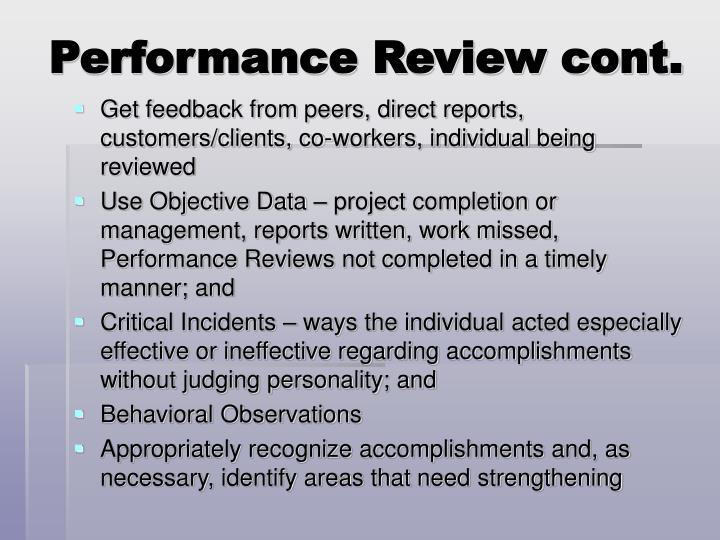 PPT - Performance Review PowerPoint Presentation - ID5544722