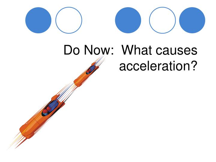 PPT - Do Now What causes acceleration? PowerPoint Presentation - ID