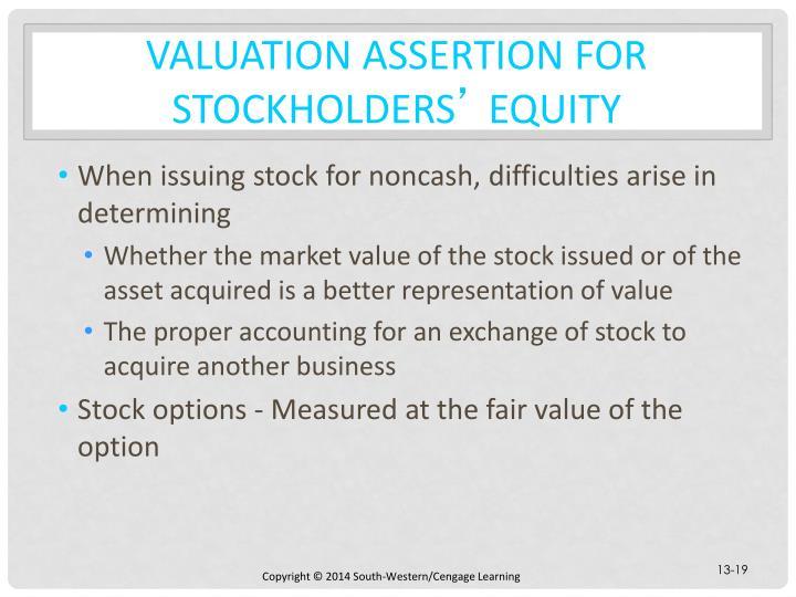 Stock options income statement - proper income statement