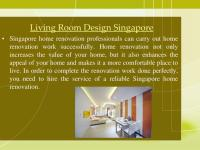 PPT - Living Room design Singapore PowerPoint Presentation ...