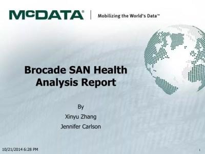 PPT - Brocade SAN Health Analysis Report PowerPoint Presentation - ID:5695299