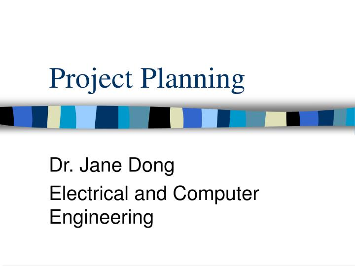 PPT - Project Planning PowerPoint Presentation - ID5723036