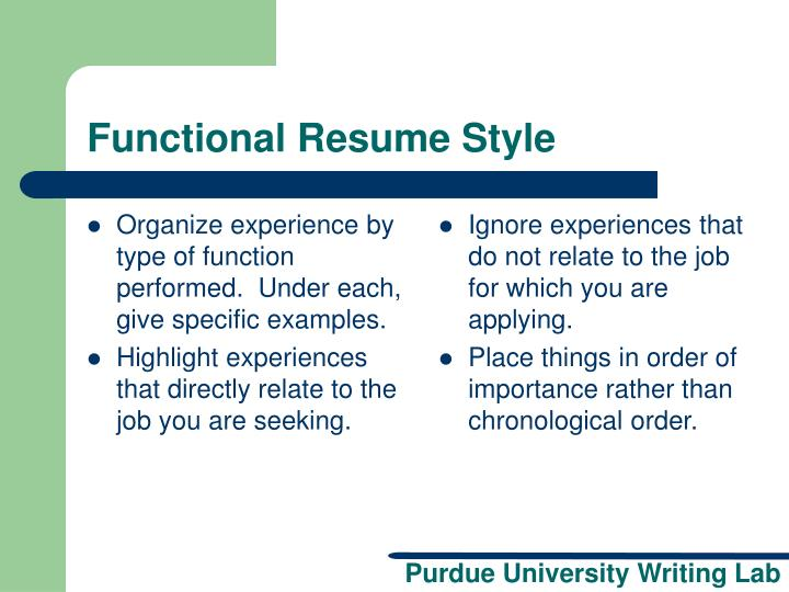 ppt resume