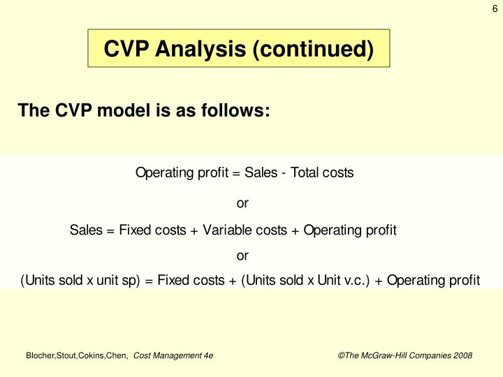 PPT - Cost-Volume-Profit Analysis PowerPoint Presentation - ID5857021 - cost of sales analysis