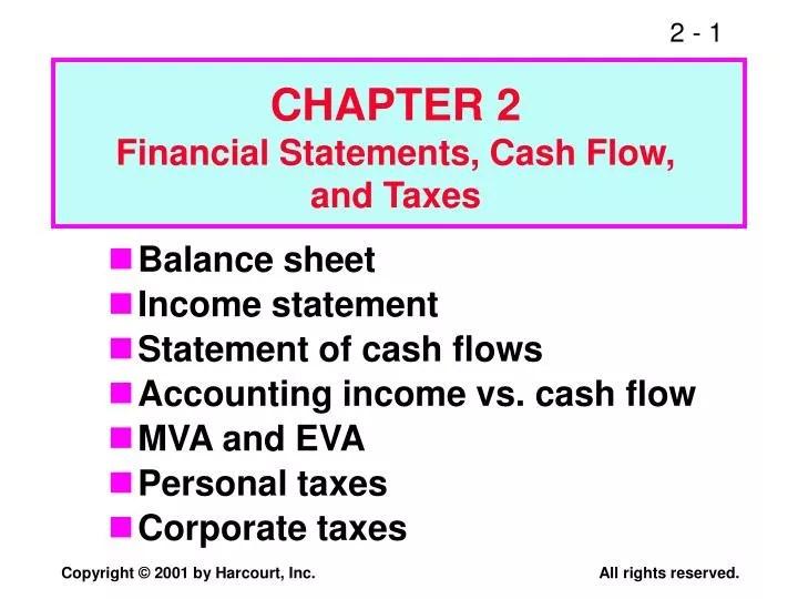 PPT - Balance sheet Income statement Statement of cash flows