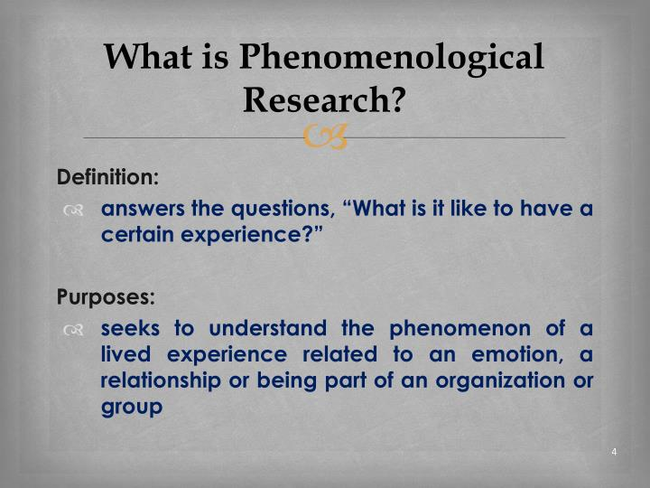 Images of Phenomenological Research Meaning - #rock-cafe