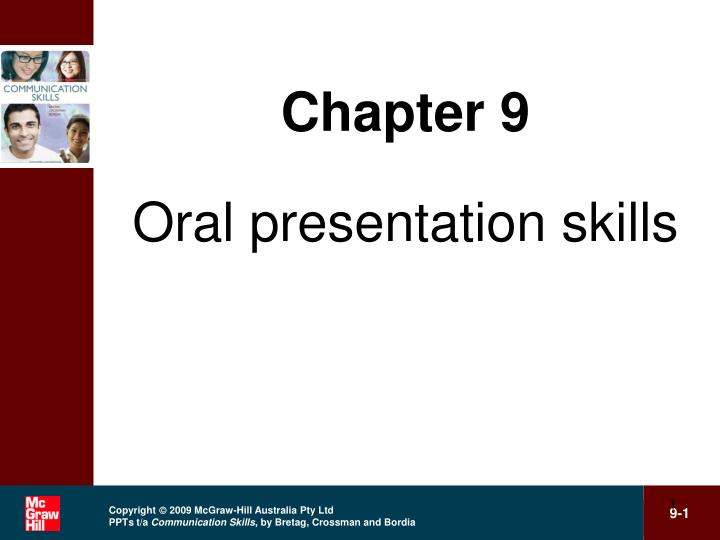PPT - Chapter 9 Oral presentation skills PowerPoint Presentation