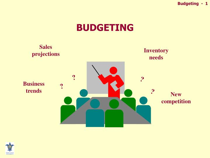 PPT - BUDGETING PowerPoint Presentation - ID6084655