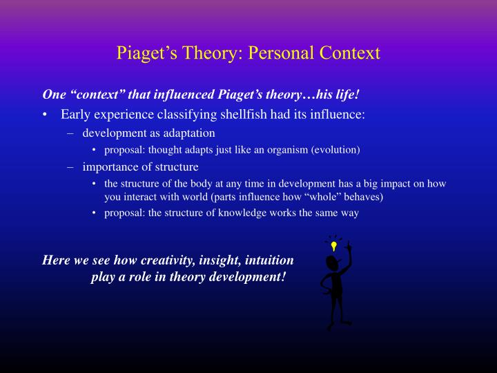 PPT - Piaget\u0027s Cognitive Developmental Theory PowerPoint