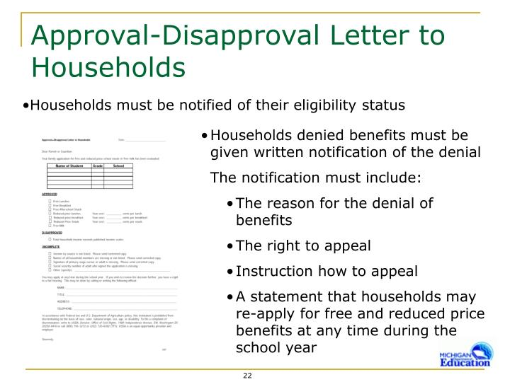 PPT - Getting Ready for Application Approval Time PowerPoint - disapproval letter