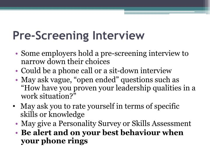 PPT - The Interview Process PowerPoint Presentation - ID6387676