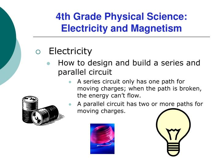PPT - 4th Grade Physical Science Electricity and Magnetism
