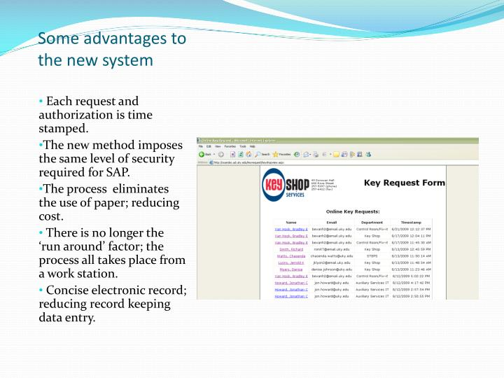 PPT - University of Kentucky Key Shop E lectronic Key Request