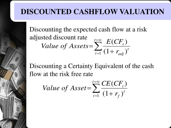 PPT - DISCOUNTED CASH FLOW VALUATION PowerPoint Presentation - ID