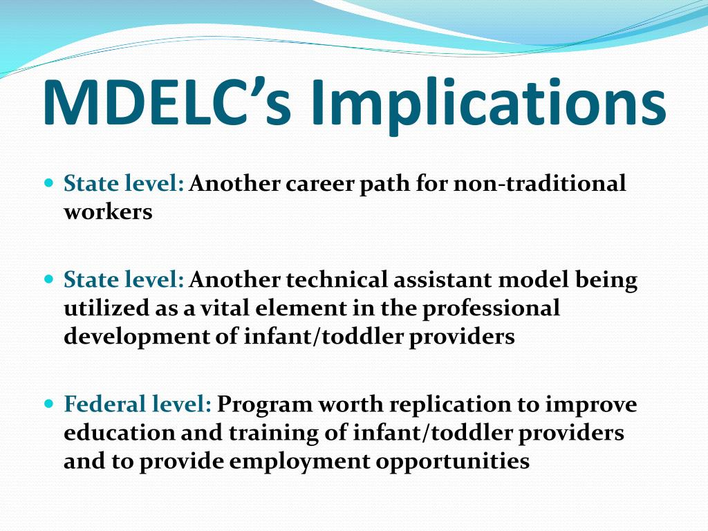 Infant Toddler Developmental Guidelines Ppt Guiding And Preparing Staff In The Mississippi Delta