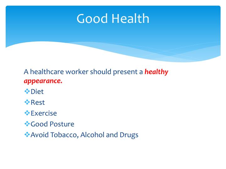 PPT - Personal Qualities of Healthcare Workers PowerPoint