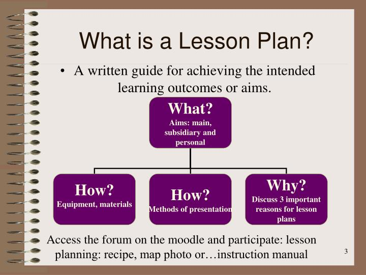 PPT - LESSON PLANNING PowerPoint Presentation - ID6613911 - what is a lesson plan and why is it important