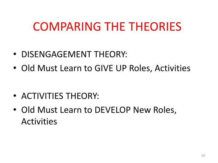 PPT - THEORIES IN GERONTOLOGY EARLY THEORIES PowerPoint