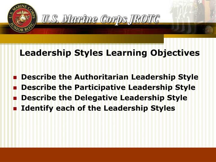 PPT - Leadership Styles PowerPoint Presentation - ID6834547