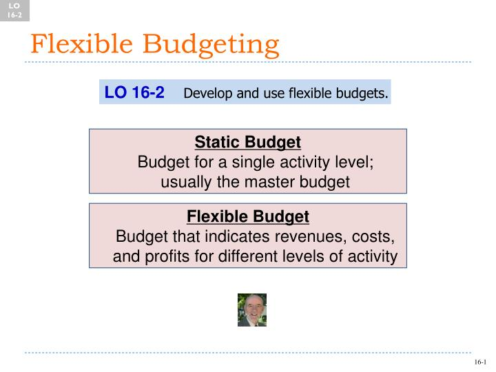 PPT - Flexible Budgeting PowerPoint Presentation - ID6837242