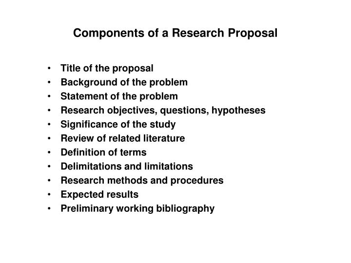 PPT - Writing an Effective Research Proposal PowerPoint Presentation - what is the research proposal