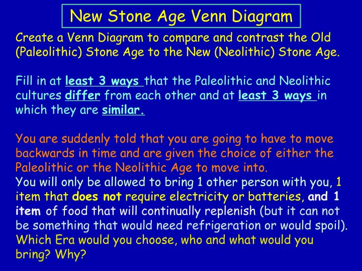 PPT - The New Stone Age (The Neolithic Era) 6,000 to 12,000 years