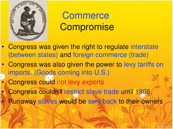 PPT - Compromises of the Constitution PowerPoint Presentation - ID
