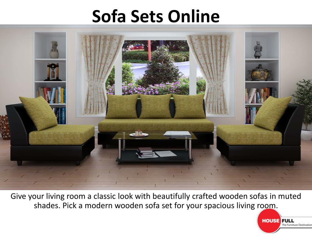 Sofa Set Online Ppt Buy Sofa Set Online In India At Housefull Co In Powerpoint