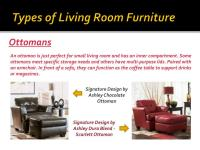 PPT - Types of Furniture for Your Living Room PowerPoint ...