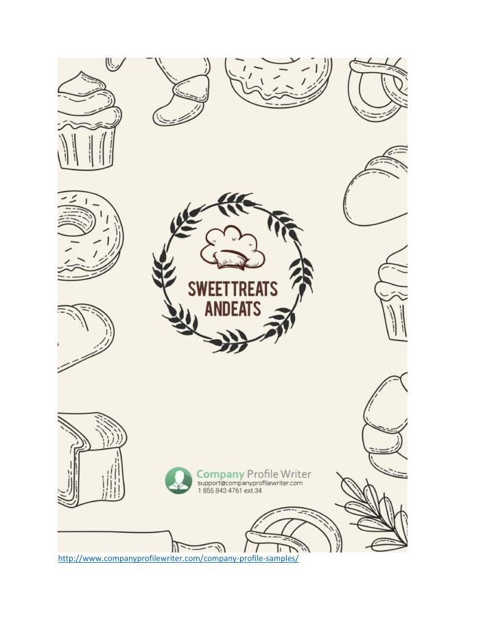 PPT - Bakery Company Profile Template PowerPoint Presentation - ID