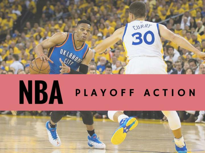 PPT - NBA playoff action PowerPoint Presentation - ID7346851