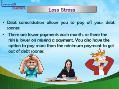 PPT - 4 Simple Advantages of Debt Consolidation PowerPoint Presentation - ID:7353835