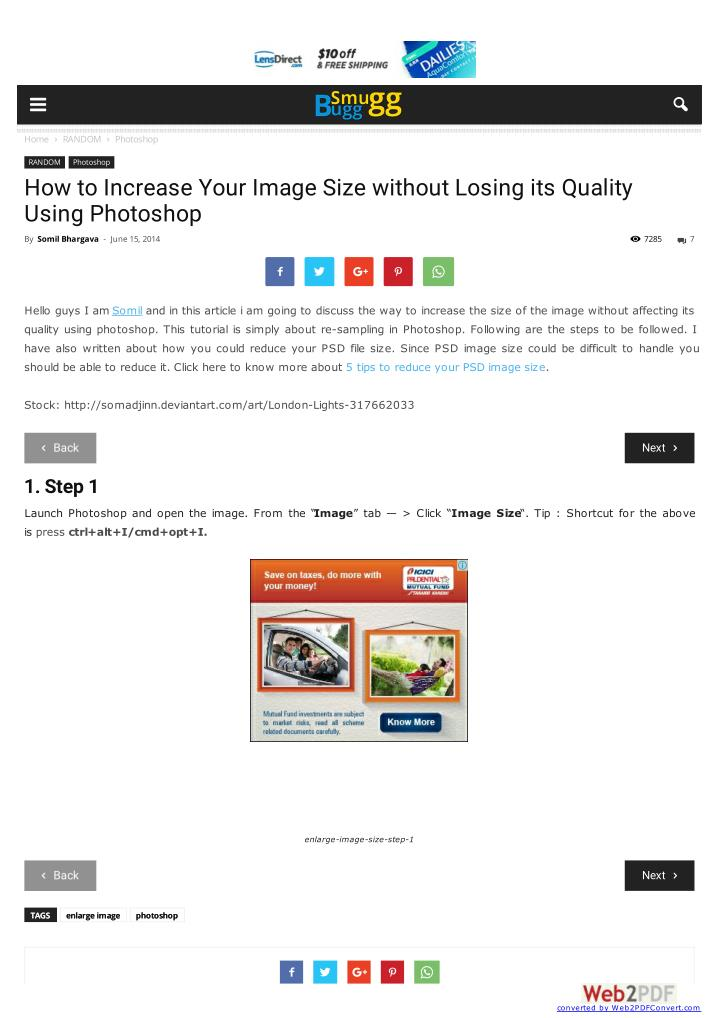 PPT - How to Increase Your Image Size without Losing its Quality