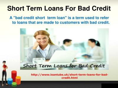 PPT - Bad Credit People have Short Term Loans with Appropriate Broking PowerPoint Presentation ...