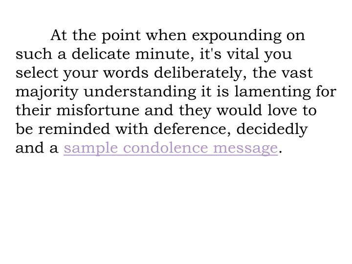 PPT - Best Deepest Short condolence message PowerPoint Presentation