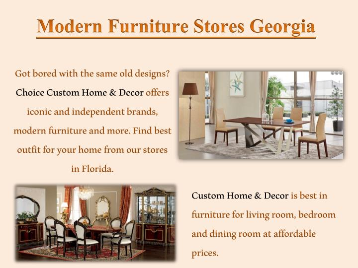 Modern Furniture Georgia modern furniture stores south florida | furniture factory for sale