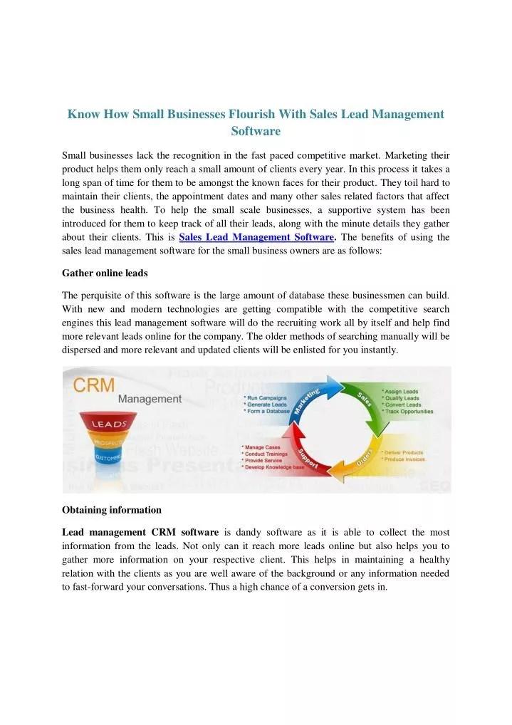 PPT - Lead Management CRM Software - Joleado PowerPoint Presentation