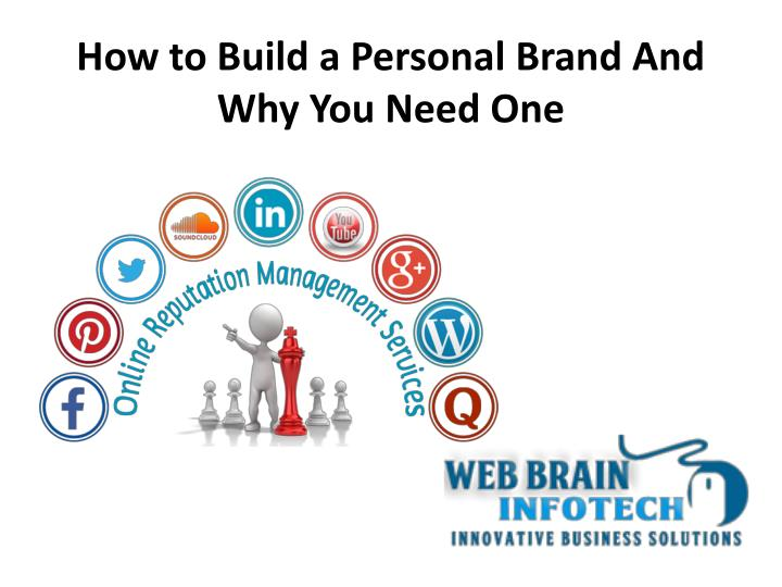 PPT - How to Build a Personal Brand And Why You Need One PowerPoint