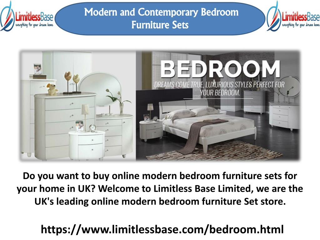 Ppt One Of The Best Modern Bedroom Furniture Store Powerpoint Presentation Id 7646914